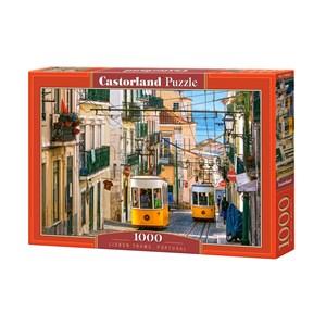 """Castorland (C-104260) - """"Tramway de Lisbonne, Portugal"""" - 1000 pièces"""