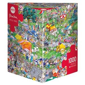 "Heye (29888) - Roger Blachon: ""Cycle Race"" - 1000 pièces"