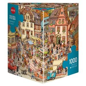 "Heye (29884) - Doro Göbel: ""Market Place"" - 1000 pièces"