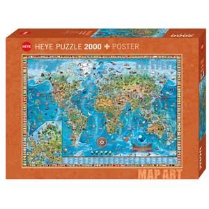 """Heye (29846) - Rajko Zigic: """"Amazing World"""" - 2000 pièces"""