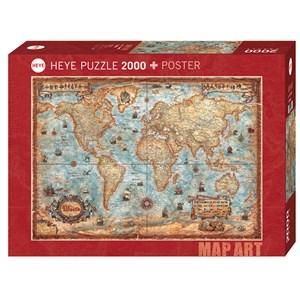 """Heye (29845) - Rajko Zigic: """"The World"""" - 2000 pièces"""