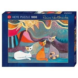"Heye (29853) - Rosina Wachtmeister: ""Yellow Ribbon"" - 1000 pièces"