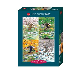 "Heye (29873) - Roger Blachon: ""4 Seasons"" - 2000 pièces"
