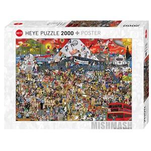 """Heye (29848) - Alex Bennett: """"British Music History"""" - 2000 pièces"""