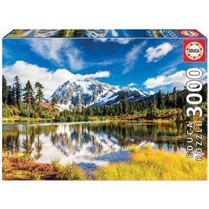 "Educa (18011) - ""Mount Shuksan, Washington, USA"" - 3000 pièces"