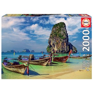 """Educa (18007) - """"Krabi, Thailande"""" - 2000 pièces"""