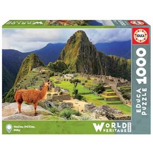 """Educa (17999) - """"Machu Picchu, Perou"""" - 1000 pièces"""