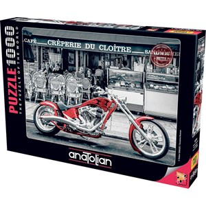 "Anatolian (1019) - Susanne Kremer: ""Red Chopper"" - 1000 pièces"