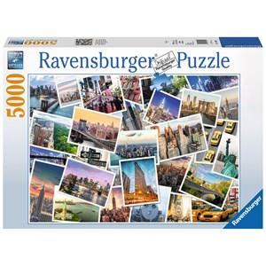 "Ravensburger (17433) - ""New York"" - 5000 pièces"