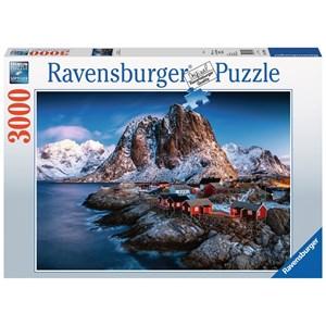 "Ravensburger (17081) - ""Lofoten, Norway"" - 3000 pièces"