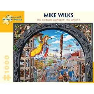 """Pomegranate (AA922) - Mike Wilks: """"The Ultimate Alphabet, The Letter A"""" - 1000 pièces"""