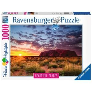 """Ravensburger (15155) - """"Ayers Rock en Australie"""" - 1000 pièces"""