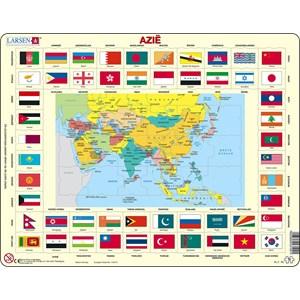 """Larsen (KL2-NL) - """"Map/Flag"""" - 70 pièces"""