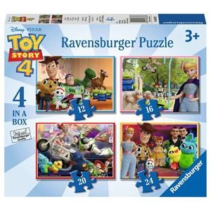 "Ravensburger (06833) - ""Toy Story 4"" - 12 16 20 24 pièces"