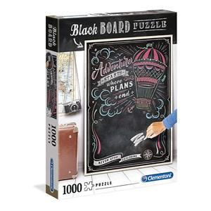 "Clementoni (39478) - ""Black Board. Travel"" - 1000 pièces"