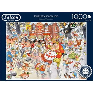 "Falcon (11223) - Graham Thompson: ""Christmas on Ice"" - 1000 pièces"