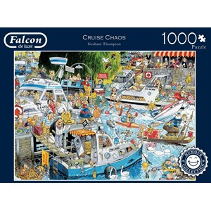 "Falcon (11198) - Graham Thompson: ""Cruise Chaos"" - 1000 pièces"
