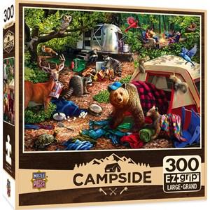"""MasterPieces (31997) - Larry Jones: """"Campsite Trouble"""" - 300 pièces"""