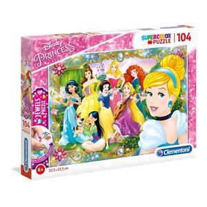 """Clementoni (20147) - """"Disney Princess"""" - 104 pièces"""
