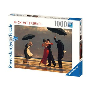 """Ravensburger (19215) - Jack Vettriano: """"The Singing Butler"""" - 1000 pièces"""