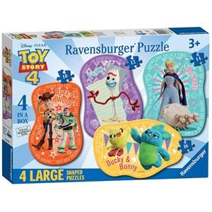 "Ravensburger (06835) - ""Toy Story"" - 10 12 14 16 pièces"