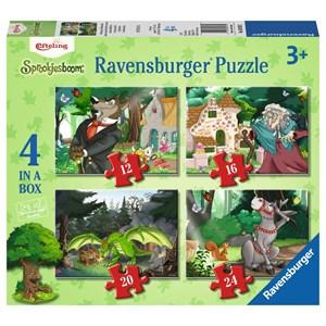 """Ravensburger (06939) - """"Contes et Légendes"""" - 12 16 20 24 pièces"""