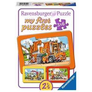"""Ravensburger (06944) - """"Vehicles"""" - 6 pièces"""