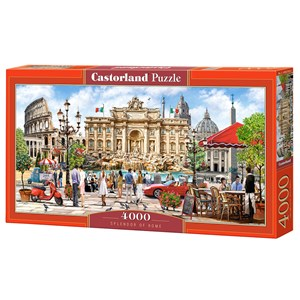 """Castorland (C-400270) - """"Splendor of Rome"""" - 4000 pièces"""