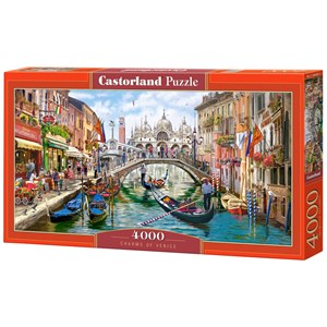 "Castorland (C-400287) - ""Charms of Venice"" - 4000 pièces"