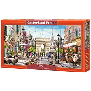 "Castorland (C-400294) - ""Essence of Paris"" - 4000 pièces"