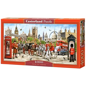 "Castorland (C-400300) - ""Pride of London"" - 4000 pièces"