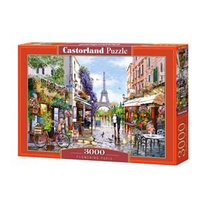 """Castorland (C-300525) - """"Flowering Paris"""" - 3000 pièces"""