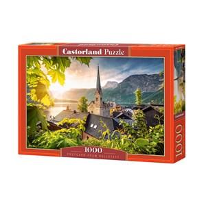 "Castorland (C-104543) - ""Postcard from Hallstatt"" - 1000 pièces"