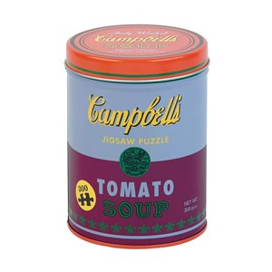 """Chronicle Books / Galison (9780735353886) - Andy Warhol: """"Campbell's Soup"""" - 300 pièces"""