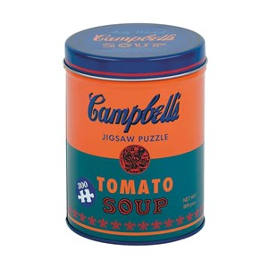 """Chronicle Books / Galison (9780735353879) - Andy Warhol: """"Campbell's Soup Can Orange"""" - 300 pièces"""