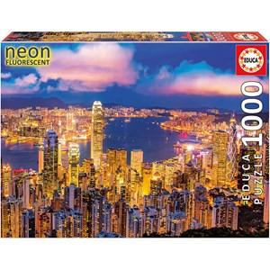 "Educa (18462) - ""Hong Kong Skyline"" - 1000 pièces"