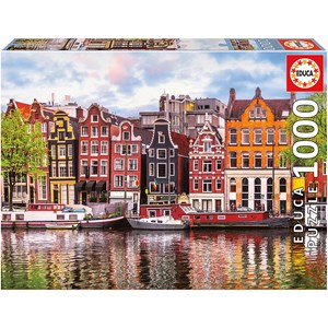 "Educa (18458) - ""Dancing house, Amsterdam"" - 1000 pièces"