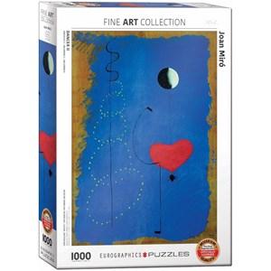 "Eurographics (6000-0854) - Joan Miro: ""Ballerina II"" - 1000 pièces"