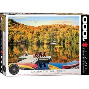 """Eurographics (6000-5427) - """"Lakeside Cottage, Quebec"""" - 1000 pièces"""
