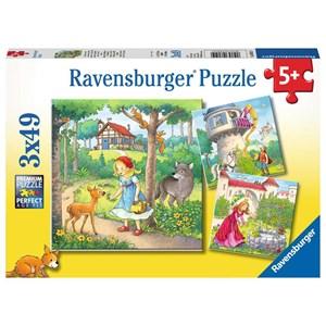 """Ravensburger (08051) - """"Contes et Légendes"""" - 49 pièces"""