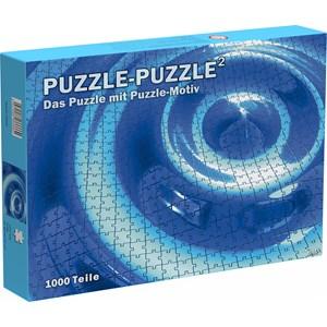 """Puls Entertainment (66666) - """"Puzzle-Puzzle²"""" - 1000 pièces"""