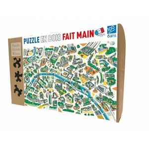 """Puzzle Michele Wilson (K685-100) - """"Paris Labyrinths"""" - 100 pièces"""