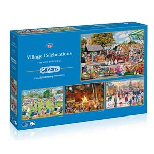 "Gibsons (G5051) - Trevor Mitchell: ""Village Celebrations"" - 500 pièces"