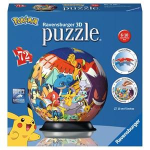 "Ravensburger (11785) - ""Pokemon"" - 72 pièces"
