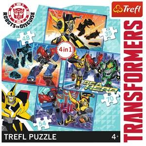 "Trefl (34287) - ""Transformers"" - 35 48 54 70 pièces"
