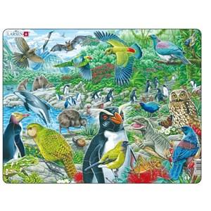 "Larsen (FH44) - ""New Zealand's Picturesque Wildlife"" - 53 pièces"