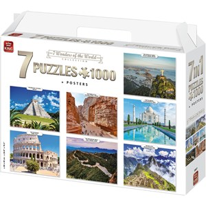 "King International (55877) - ""7 Wonders of The World"" - 1000 pièces"