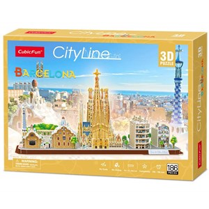 "Cubic Fun (MC256h) - ""Barcelona"" - 186 pièces"