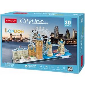 """Cubic Fun (MC253h) - """"Londres"""" - 107 pièces"""