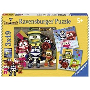"""Ravensburger (08047) - """"Robot Trains"""" - 49 pièces"""